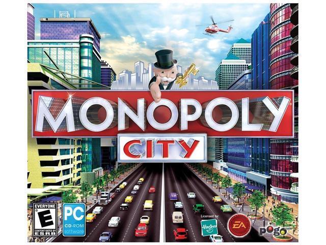 Monopoly City Jewel Case PC Game