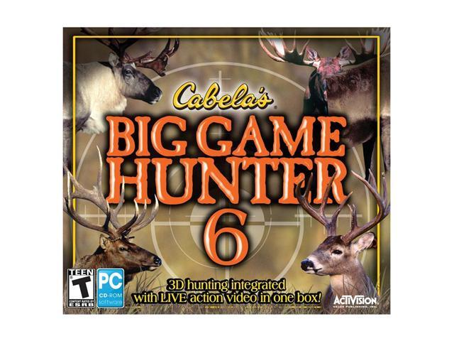 Cabela's Big Game Hunter 6 Jewel Case PC Game