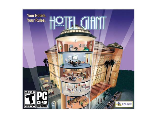 Maximum Capacity Hotel Giant Jewel Case PC Game
