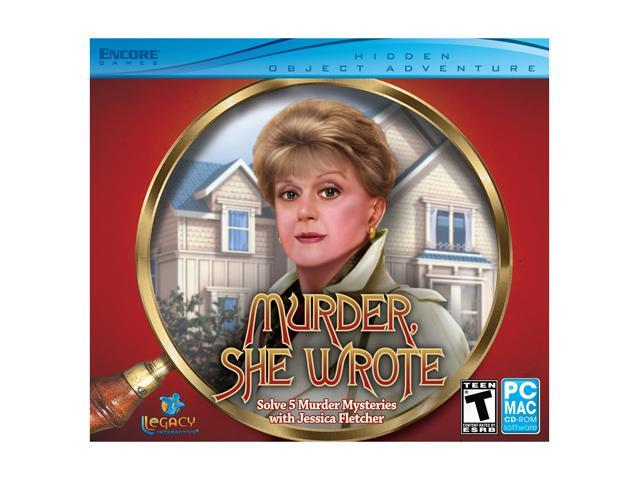 Murder She Wrote (Jewel Case) PC Game