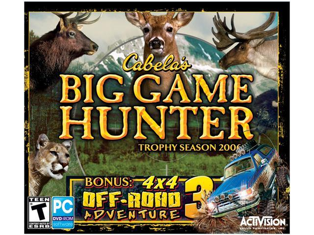 Cabela's Big Game Hunter 2006 w/ 4x4 Off Road Adventure PC Game