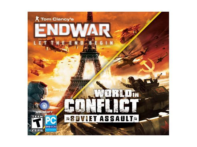 Tom Clancy End War & World in Conflict: Soviet Assault (Jewel Case) PC Game