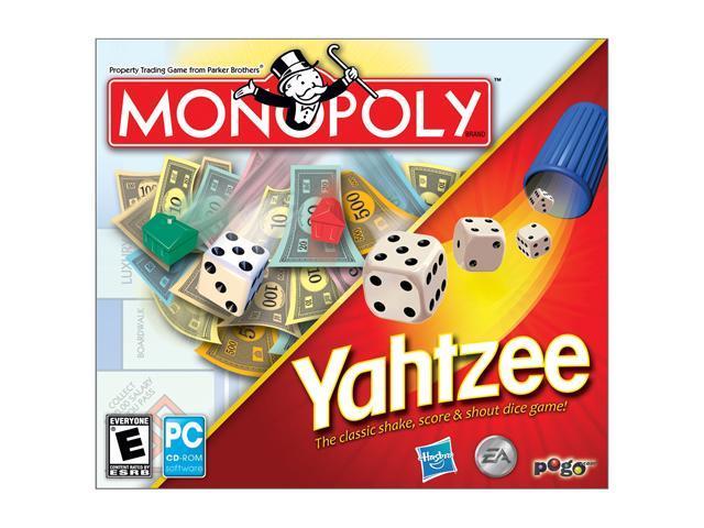 Yahtzee Jewel Case/Monopoly Jewel Case PC Game