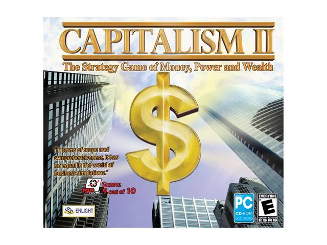 Capitalism 2 Jewel Case PC Game