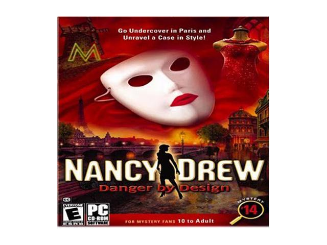 Nancy Drew Danger By Design Jewel Case PC Game