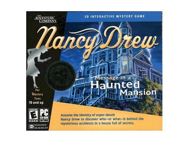 Message In A Haunted Mansion Jewel Case PC Game