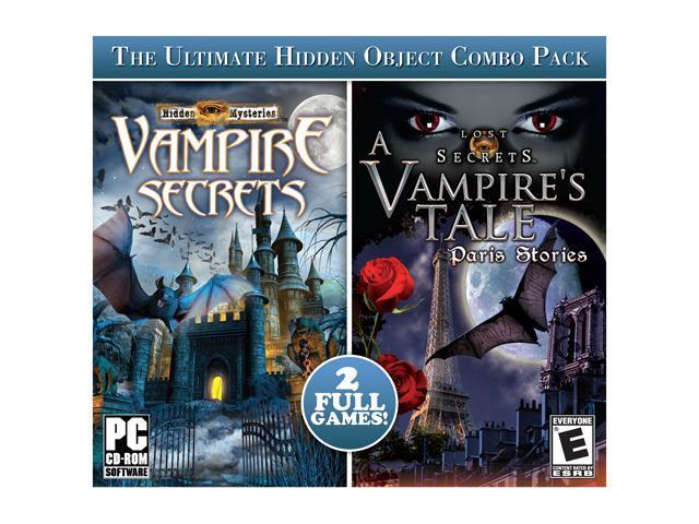 Hidden Mysteries: Vampire Secrets + Lost Secrets Jewel Case PC Game
