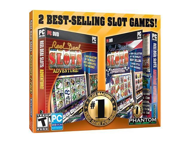 Reel Deal Slots: Adventure 2 Pack Jewel Case PC Game