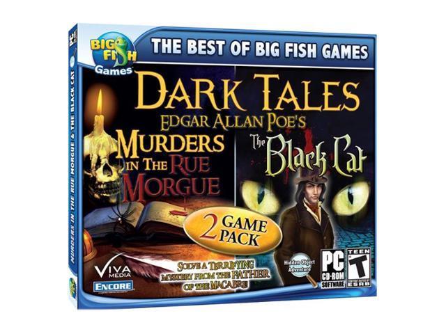 Dark Tales 2-pack: Edgar Allan Poe's The Black Cat & Edgar Allan Poe's Jewel Case PC Game