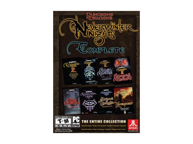 Dungeons & Dragons Neverwinter Nights Complete Collection PC Game