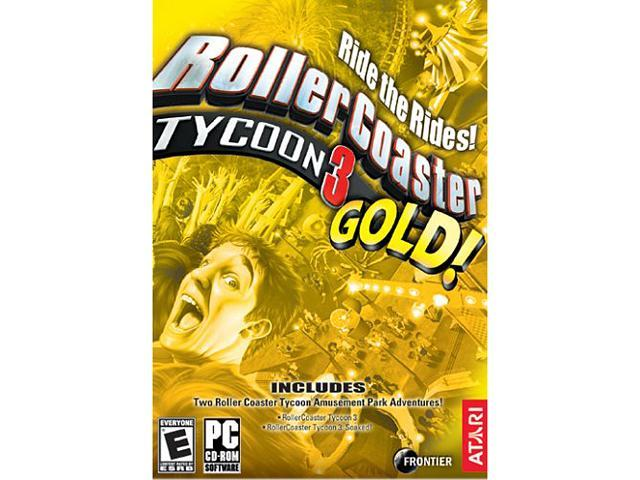 Rollercoaster Tycoon 3: Gold Compilation Pack PC Game