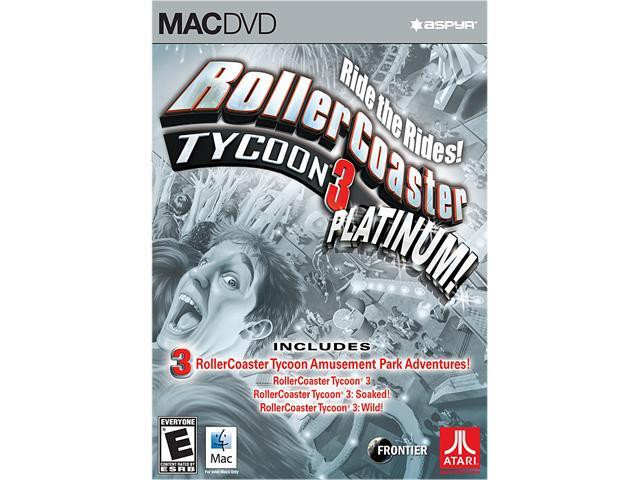 RollerCoaster Tycoon 3 Platinum for Mac [Online Game Code]