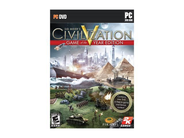Sid Meier's Civilization V: Game of the Year Edition PC Game