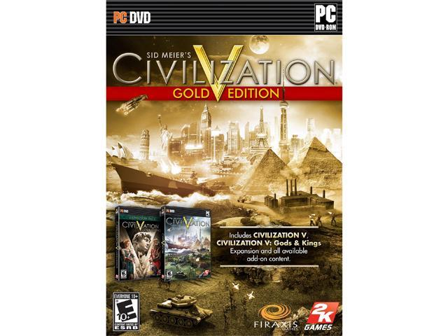 Sid Meier's Civilization Gold Edition PC Game