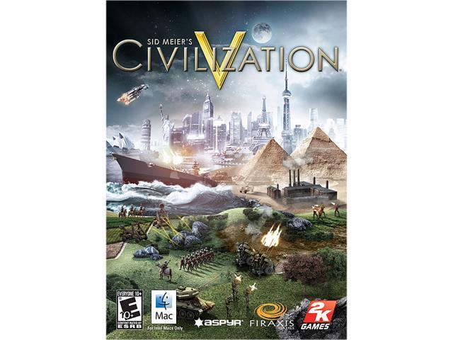 Sid Meier's Civilization V for Mac [Online Game Code]