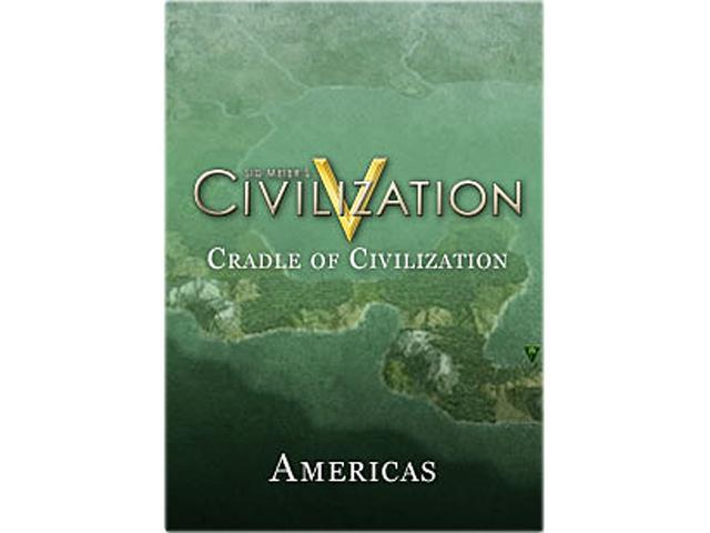 Sid Meier's Civilization V: Cradle of Civilization - The Americas for Mac [Online Game Code]