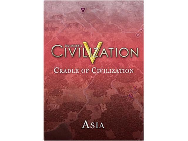 Sid Meier's Civilization V: Cradle of Civilization - Asia for Mac [Online Game Code]