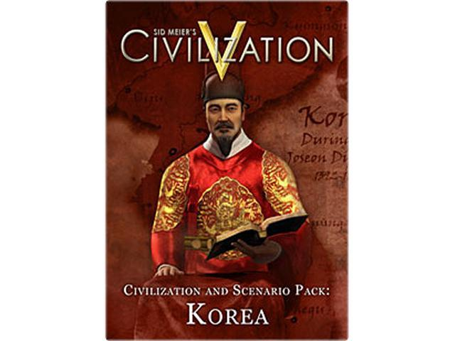 Sid Meier's Civilization V: Civilization and Scenario Pack - Korea for Mac [Online Game Code]