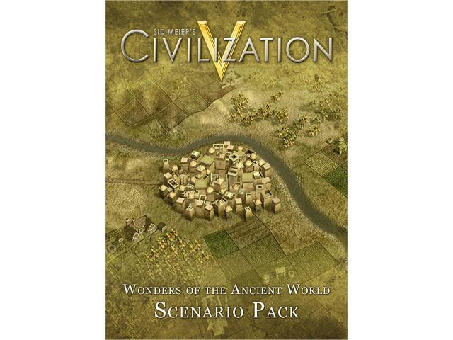 Sid Meier's Civilization V: Scenario Pack - Wonders of the Ancient World for Mac [Online Game Code]
