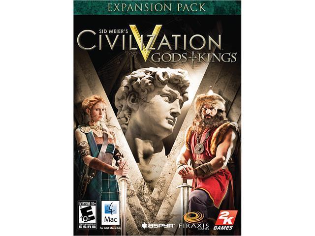 Sid Meier's Civilization V: Gods and Kings for Mac [Online Game Code]