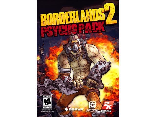 Borderlands 2: Psycho Pack for Mac [Online Game Code]