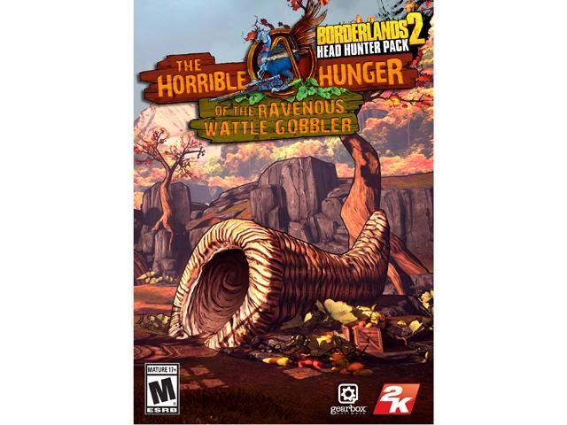 Borderlands 2 - Headhunter 2: The Horrible Hunger of the Ravenous Wattle Gobbler DLC  [Online Game Code]