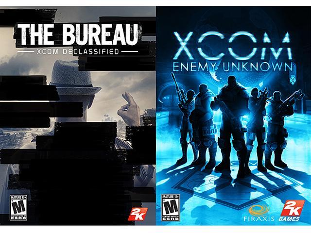 The Bureau: XCOM Declassified + XCOM: Enemy Unknown Bundle Pack [Online Game Codes]