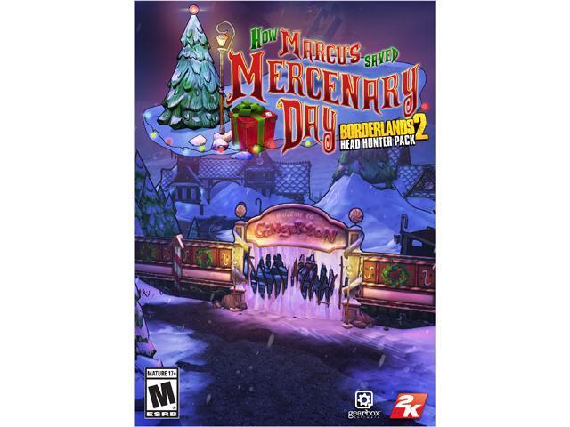 Borderlands 2 - Headhunter 3: How Marcus Saved Mercenary Day DLC [Online Game Code]