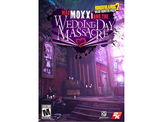 Borderlands 2 - Headhunter 4 DLC: Madd Moxxi and the Wedding Day Massacre [Online Game Code]