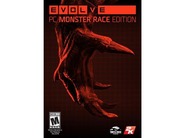 Evolve PC Monster Race [Online Game Code]