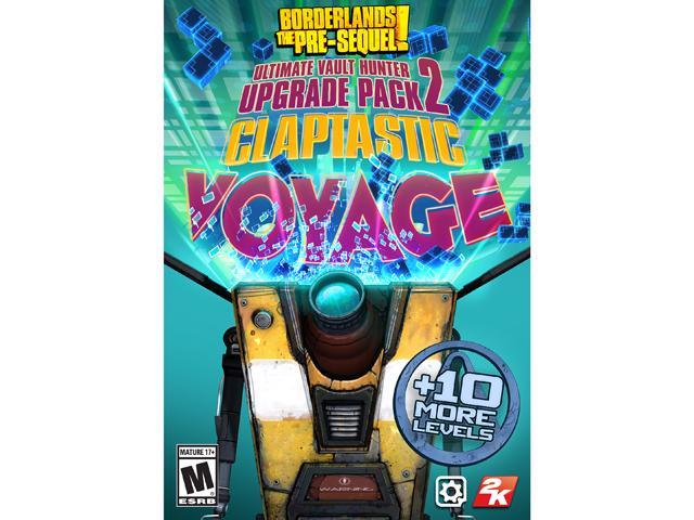 Borderlands: The Pre-Sequel DLC 4: Claptastic Voyage and Ultimate Vault Hunter Upgrade Pack 2 [Online Game Code]