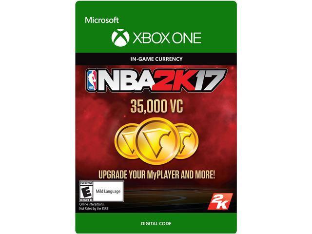 NBA 2K17: 35,000 VC Xbox One [Digital Code]