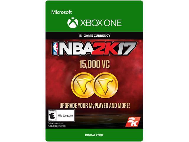 NBA 2K17: 15,000 VC Xbox One [Digital Code]