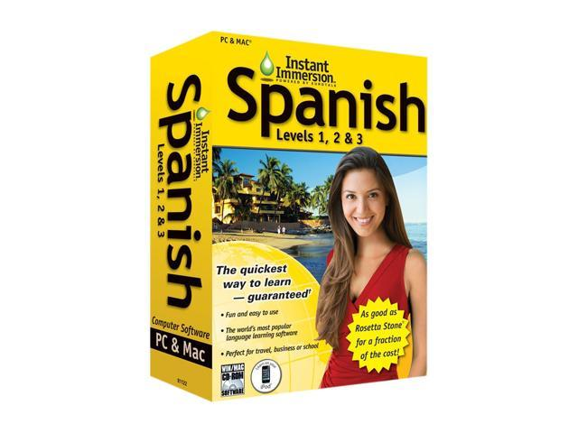 TOPICS Entertainment Instant Immersion Spanish Levels 1,2 & 3