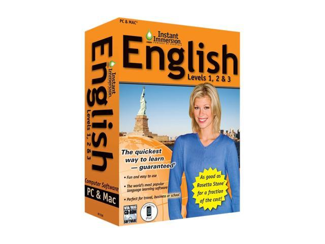 TOPICS Entertainment Instant Immersion English Levels 1,2 & 3
