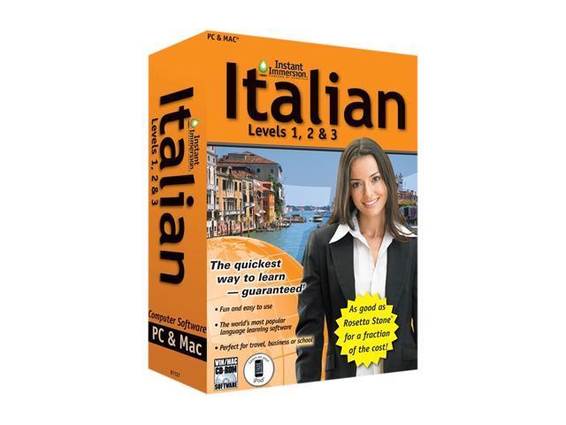 TOPICS Entertainment Instant Immersion Italian Levels 1,2 & 3