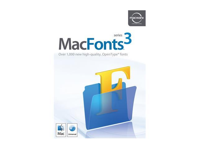 SummitSoft MacFonts 3