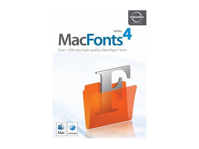 SummitSoft MacFonts 4