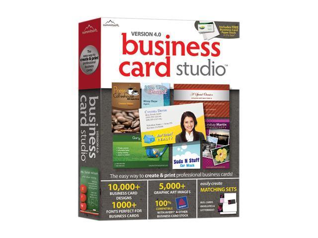 SummitSoft Business Card Studio 4.0