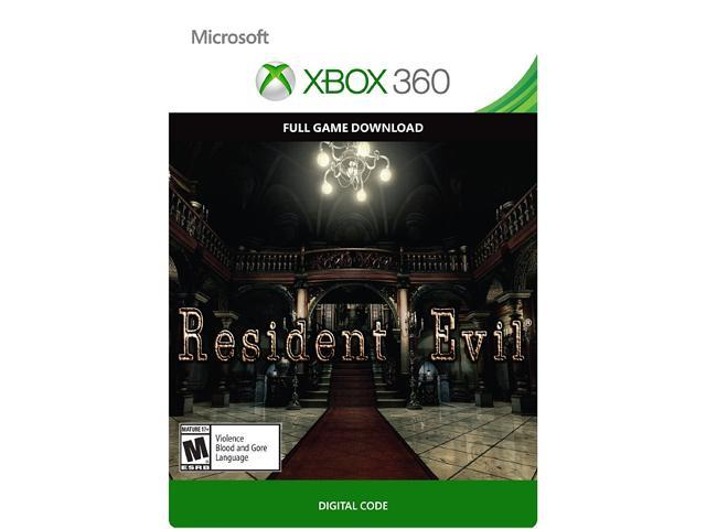 Resident Evil HD Remaster XBOX 360 [Digital Code]