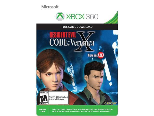 Resident Evil Code: Veronica X XBOX 360 [Digital Code]