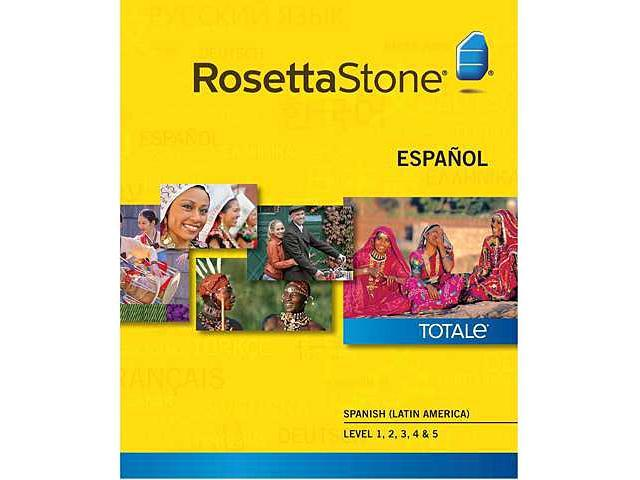 Rosetta Stone Spanish (Latin America) - Level 1-5 Set