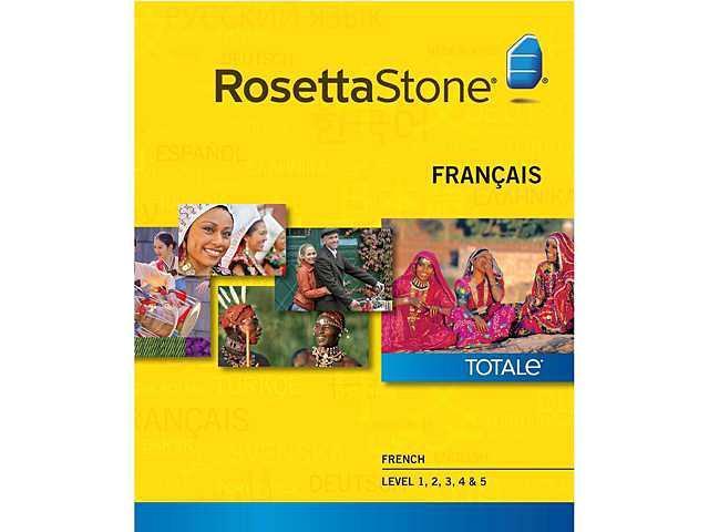 Rosetta Stone French - Level 1-5 Set