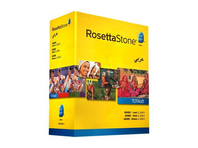 Rosetta Stone Arabic - Level 1-3 Set