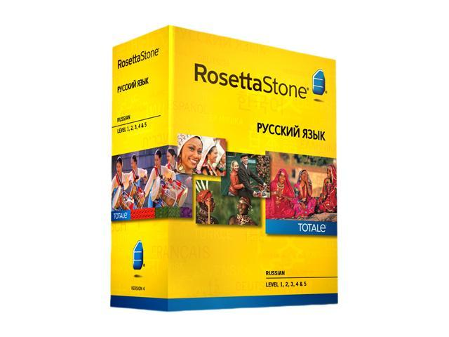 Rosetta Stone Russian - Level 1-5 Set
