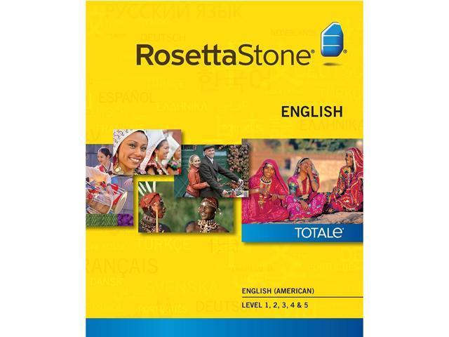 Rosetta Stone English (American) Level 1-5 Set [Download]
