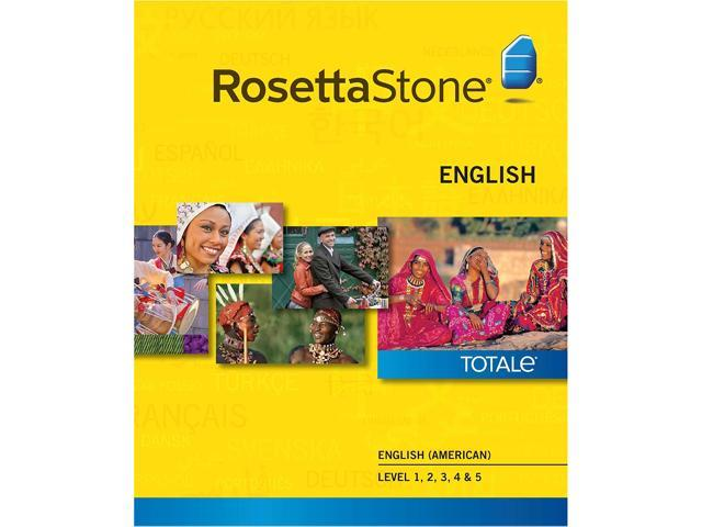 Rosetta Stone English (American) Level 1-5 Set for Mac [Download]