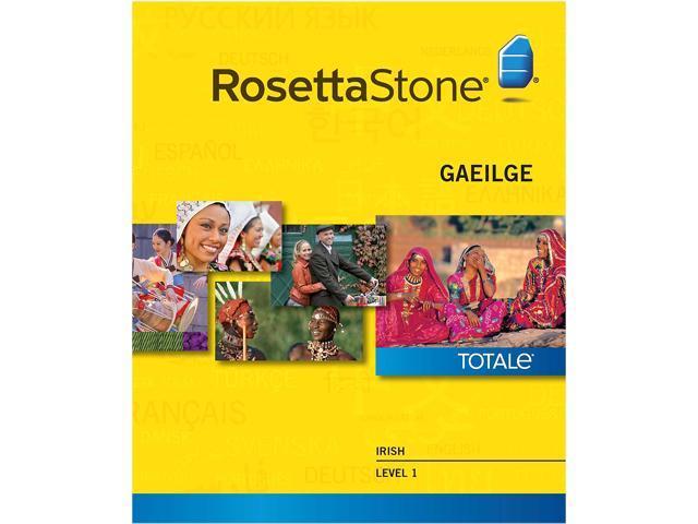 Rosetta Stone Irish Level 1 for Mac [Download]