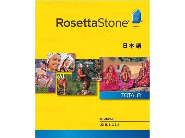 Rosetta Stone Japanese Level 1-3 Set for Mac [Download]