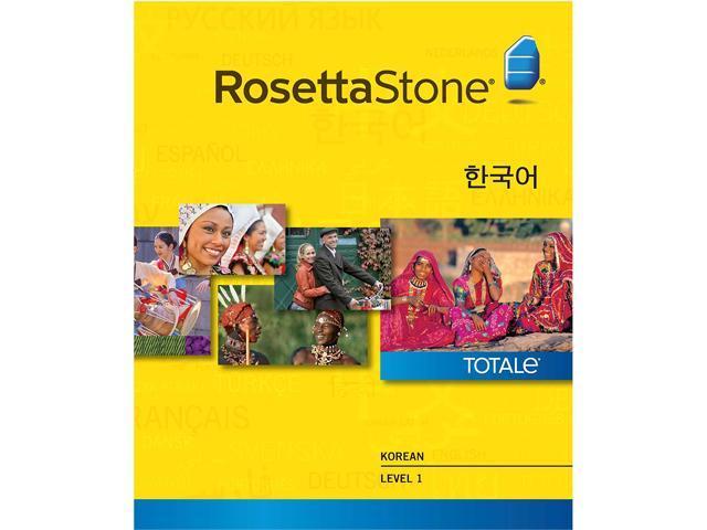 Rosetta Stone Korean Level 1 for Mac [Download]